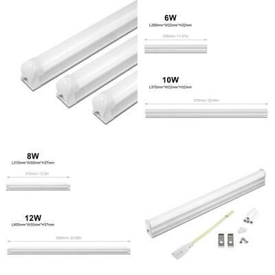 220V LED Tube Lamp T5 6W 10W / T8 8W 12W LED Cabinet light PVC Plastic Fluoresce