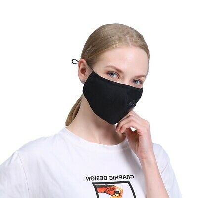 FREE X 2 PM2.5  Filters with each Face Mask - Reusable Washable - UK SUPPLIER