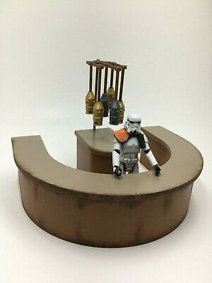 CUSTOM STAR WARS CANTINA BAR PLAYSET DIORAMA for 3.75 inch FIGURES MOS EISLEY