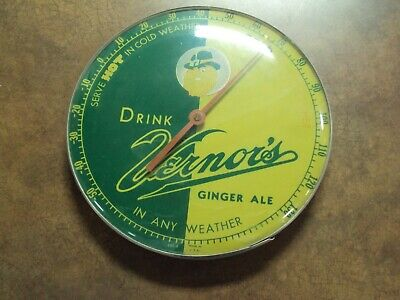 Antique Vernors Advertising Thermometer