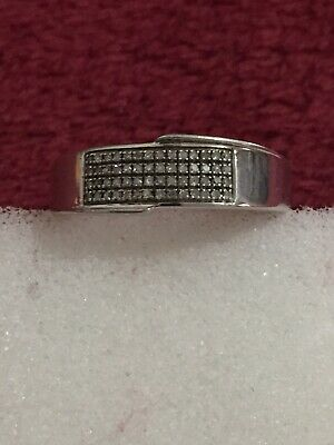Sterling Silver Mens Wedding Band Scrap Or Wear Size 12