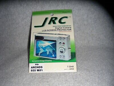 LCD Screen Protector by JRC for Archos 605 Wi-Fi Portable Media Player (sealed)