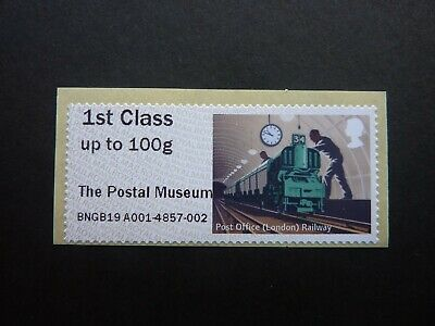 Royal Mail 1st Post & Go pictorial stamps 'The Postal Museum' overprint CHOOSE