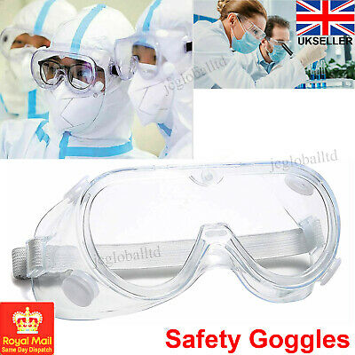 Safety Goggles Protective Glasses For Eye Protection Anti-Fog Lab Work Eye wear