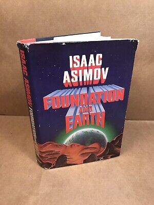 Isaac Asimov 'FOUNDATION AND EARTH' 1986 First Edition dust jacket