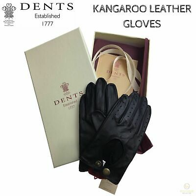 DENTS Premium Kangaroo Leather Unlined Driving Gloves Ladies Winter Gift 77-0038