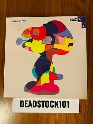 "KAWS NGV Exclusive ""No One's Home"" Jigsaw Puzzle 1000 Piece In Hand SHIPS FAST"