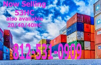 53' High Cube Cargo Container / Shipping Container / Storage Unit  Chigago, IL