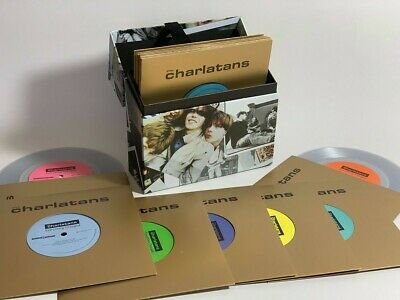 """The Charlatans Everything changed Record store day 2019 vinyl 7""""x15 box set"""