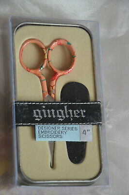 GINGHER ** DESIGNER SERIES BIANCE 4 INCH ****  MADE in ITALY
