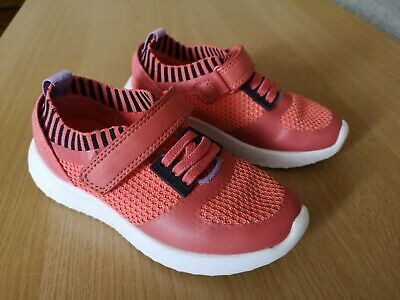 M&S Girls Pink Trainers Size UK 10 Infant