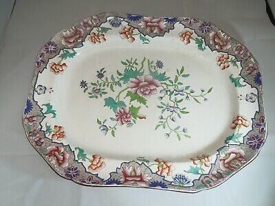 Late 18th Century Spode 3184 Pattern Large 'Platter'; stamped in Black