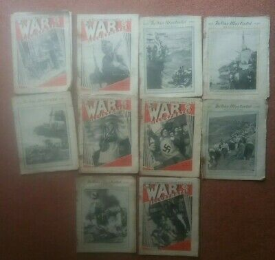 WW2 The War Illustrated - 10 copies