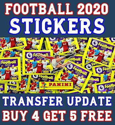 Update Set Panini Football 2020 Stickers - Choose The Ones You Want - Transfer