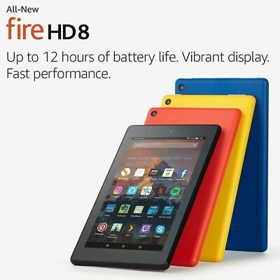 ALL-New Amazon Kindle Fire HD 8 Tablet with Alexa,32GB 8th Generation! FastDeliv