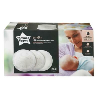 NEW 3 Boxes Tommee Tippee 100 Disposable Breathable Super Soft Breast Pads