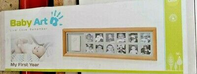 Baby Art - My First Year Photo Frame - Wooden