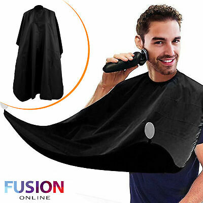Barbers Cape Hair Cutting Salon Gown with Hooks Hairdressers Beard Trim Apron