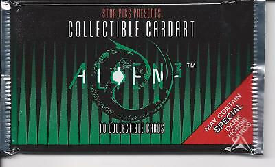 Aliens 3  , trading card pack
