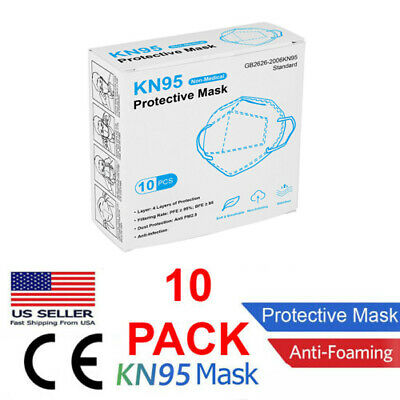 10 Pack of KN95 CE certified Face Protection Respirator Masks AUTHORIZED SELLER