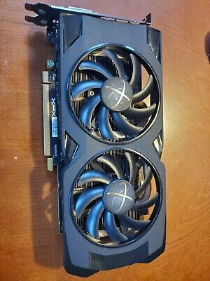 Xfx Rs Rx 470 4Gb Video Card 2X Fan Hdmi Dp Dvi Works Weak Fan