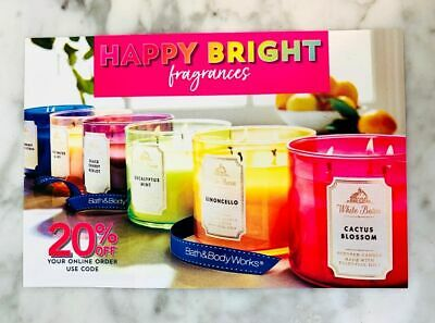 1 Bath & Body Works Coupon 20% Off Only VALID UNTIL --8-08-20
