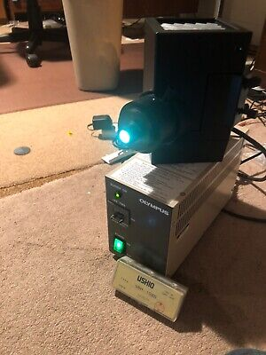 Olympus Bh-Rfl T3 Lamp House And Power Supply