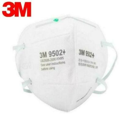 5/25PCS 3M 9502V+ KN95 Face Mask Disposable Valve Activated Protective Cover