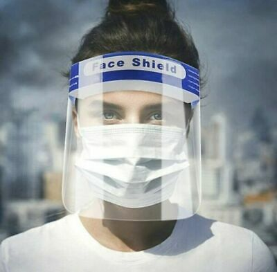 WHOLESALE  Safety Full Face Shield Cover Anti-Splash Anti-Fog clear plastic