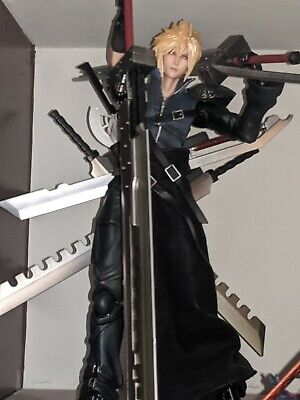 Cloud and Sephiroth Advent Children Play Arts Kai Authentic from US website