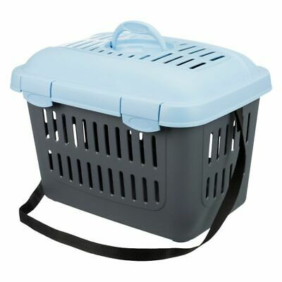 Small Pet Carrier Weighing Upto 5kg Carry Handle Shoulder Strap Door In Roof