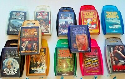 Top Trumps Card Collections **Choose Your Pack**Supercars Buffy Simpsons Space