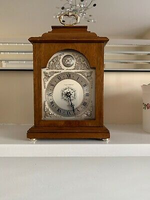 Quality English Vintage Elliott 8 Day Table Clock