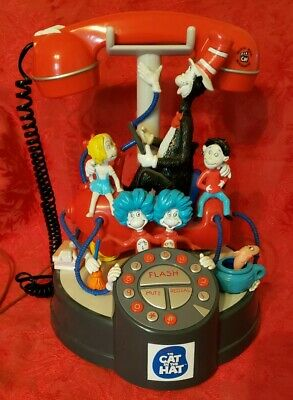 Dr Seuss Official Cat In The Hat Movie Phone Preowned