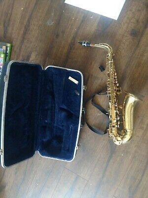 Conn Alto sax Saxophone With Case strap and  reed free USA shipping