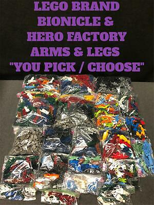 Lego Spare body parts for minifigures 10 Hands 5 pair PICK YOUR COLOR