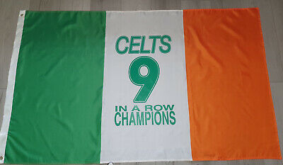 Celtic 9 In A Row Flag New 19/20!! 🍀🍀🍀🍀🍀🍀