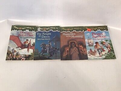 Magic Tree House Collection #1-4 Mary Pope Osborne