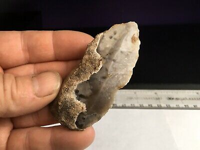 Neolithic(early) Blade And Borer.flint Tool.prehistoric.