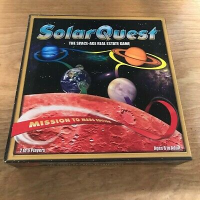 SolarQuest The Space-Age Real Estate Game Mission to Mars Edition