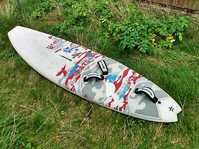 Fanatic Skate Windsurfing Board, 100 Litres. Lightweight and in Good Condition