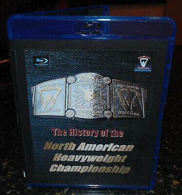 Best of Mid-South North American Title UWF World Championship Blu-ray history