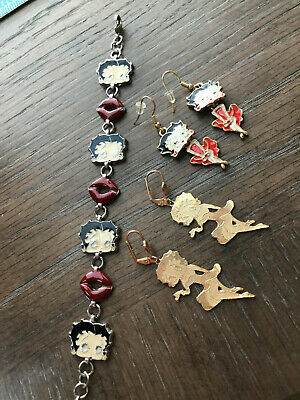 Betty Boop Jewelry 3-Pieces