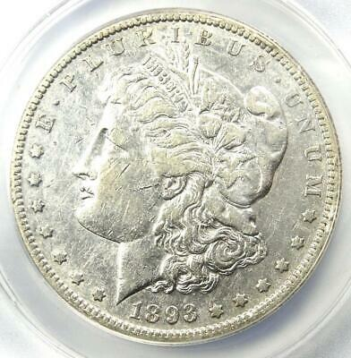 1893-S Morgan Silver Dollar $1 - Certified ANACS XF40 Details (EF40) - Key Coin!