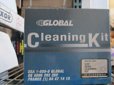 NEW Professional 5.25 Floppy Disk Drive Cleaner w/ Solution Kit EASY TO USE