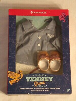 American Girl Tenney's Picnic Outfit New In Box! Retired!