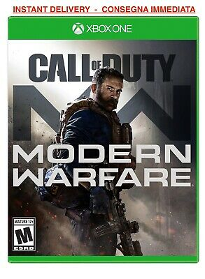 Call of Duty Modern Warfare Xbox One NO key NO cd MULTIPLAYER ONLINE MODE