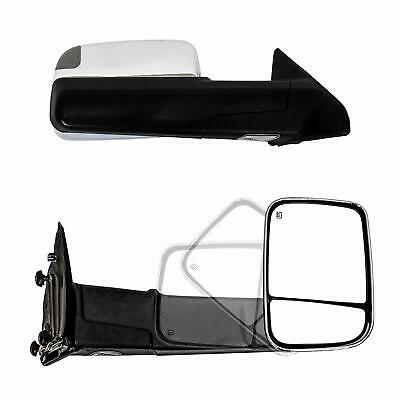 Paragon Towing Mirrors for 2010-18 Dodge Ram 1500/2500/3500