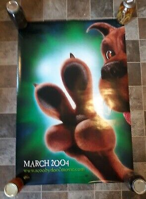 2004 Scoob! Scooby-Doo 2  - original DS Advance  movie poster - 27x40