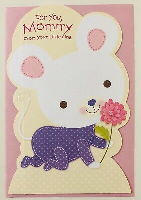 American greetings Mothers Day card - For You Mommy From Your Little One